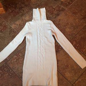 Sweaters - Ivory Turtleneck Sweater